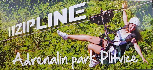 Adrenalin park Plitvice – Selište Drežničko – Gajina pećina Rakovica