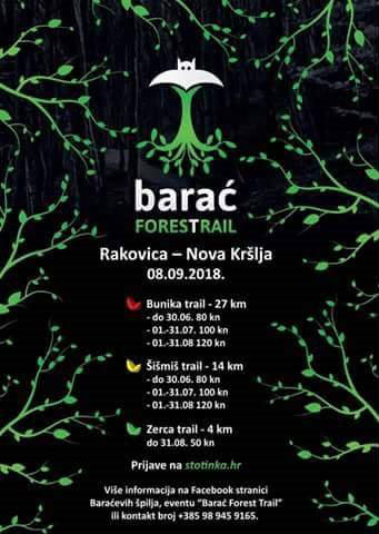 Barać Forest Trail