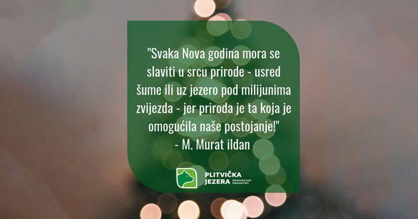Doček nove 2019. Nacionalni park Plitvička jezera