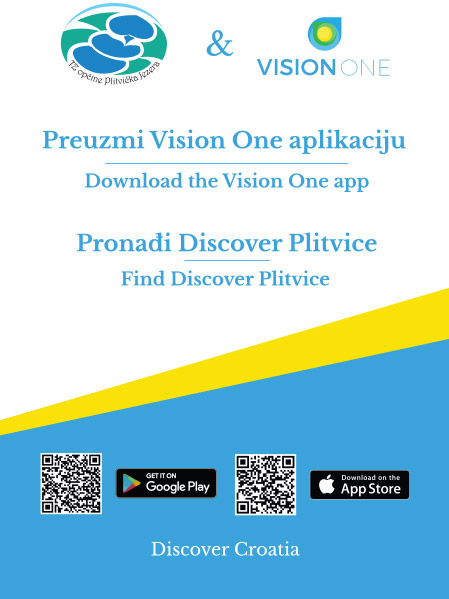 Discover Plitvice Vision One app