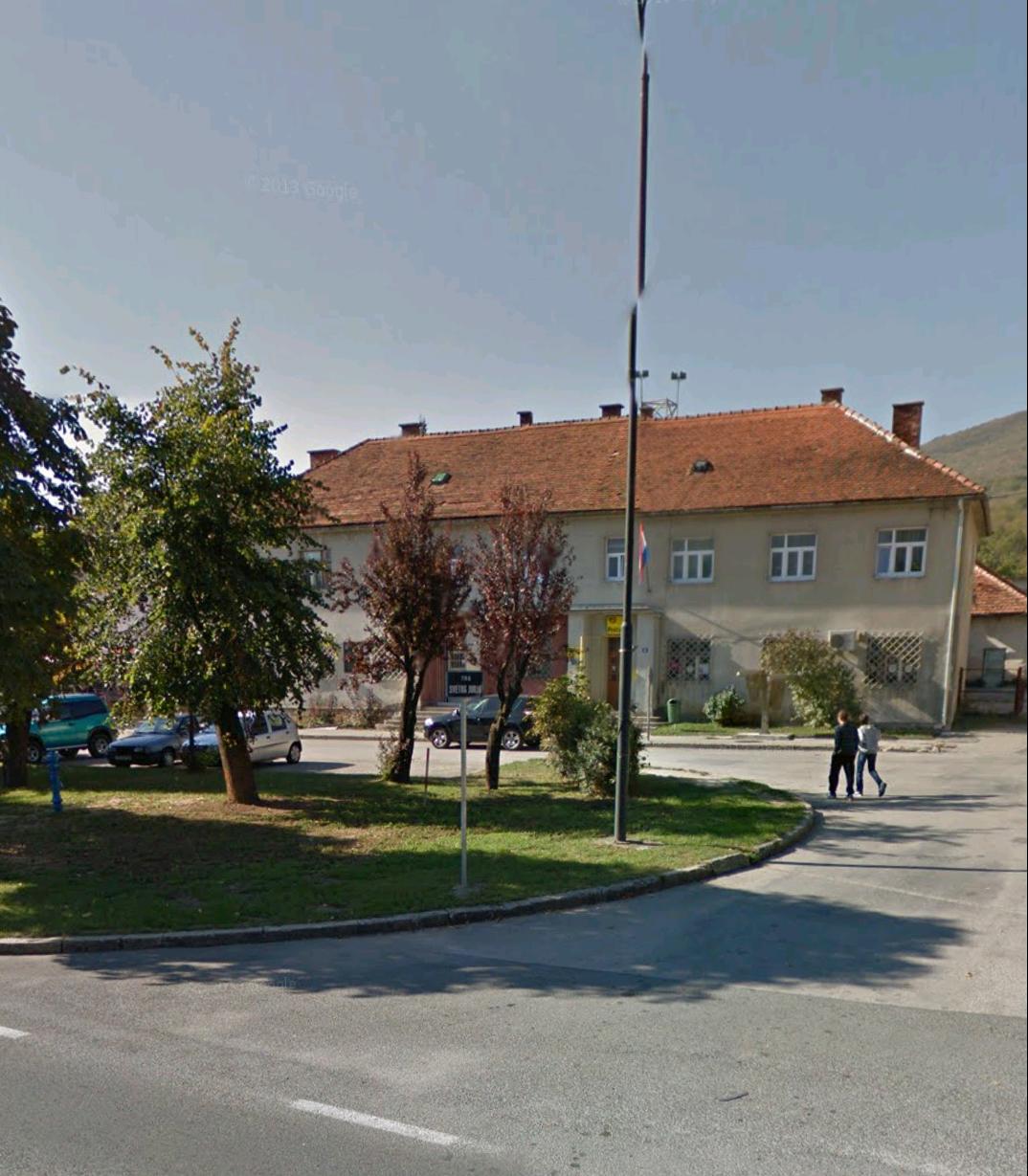 Le bureau de poste Korenica