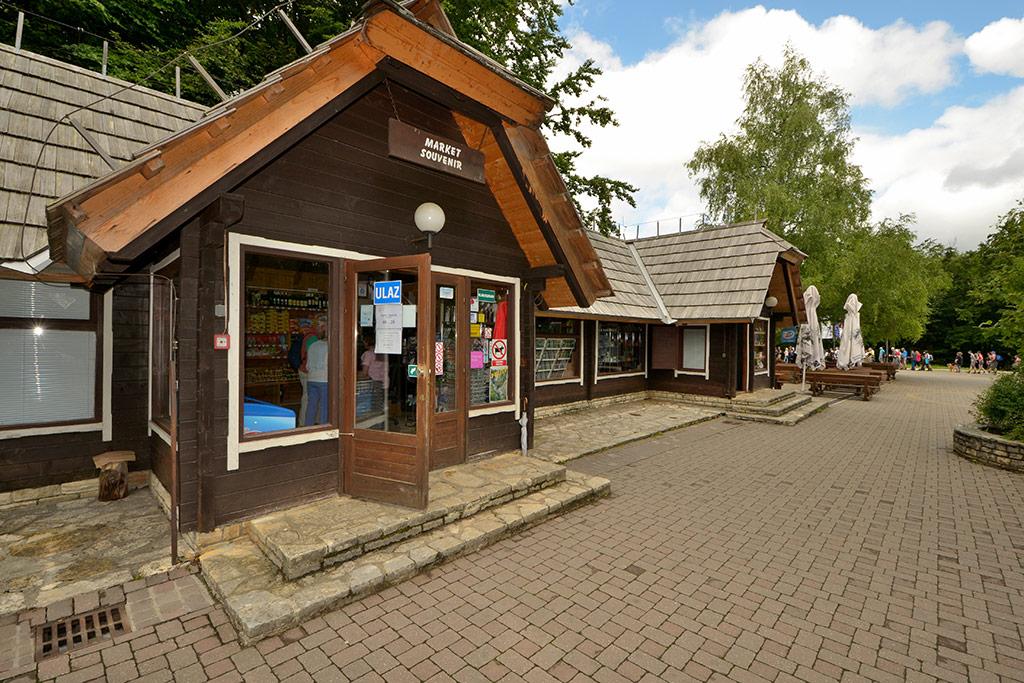 Market Slap – NP Plitvička Jezera