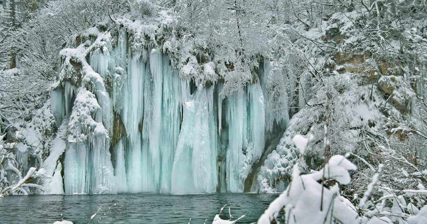 Zima u NP Plitvička jezera