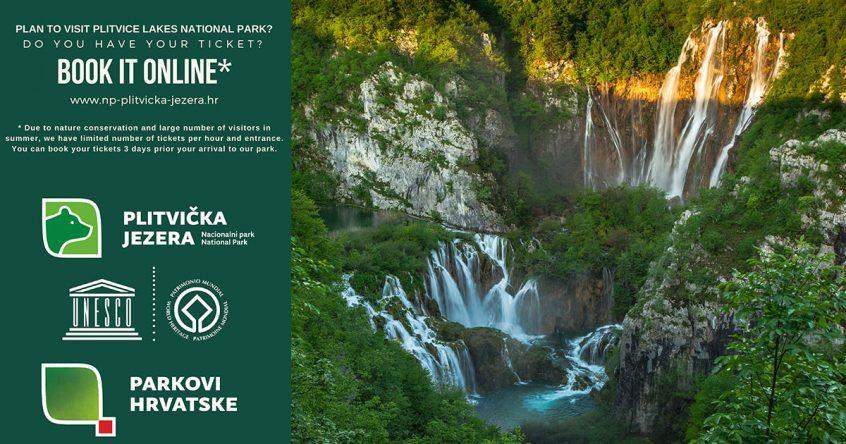 Online prodaja ulaznica u Nacionalnom parku Plitvička jezera