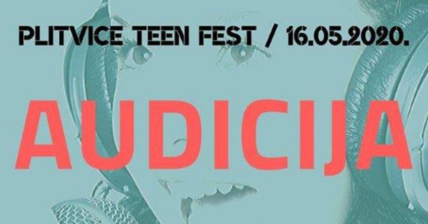 Plitvice Teen Fest - Audicija
