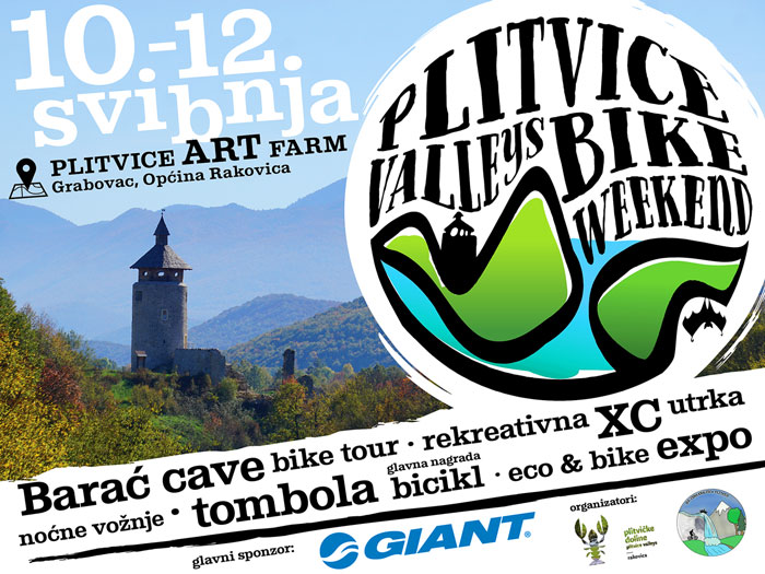 Plitvice Valleys Bike Weekend 2019