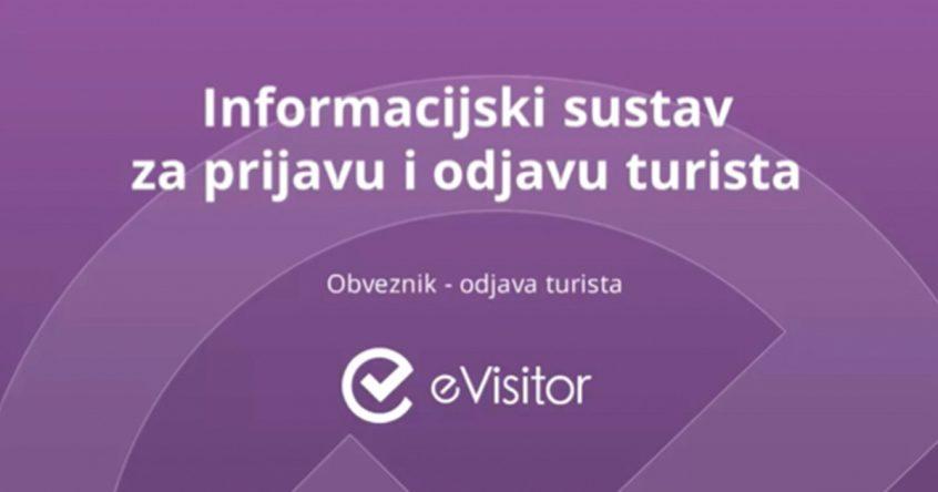 Prijava i odjava gostiju e visitor