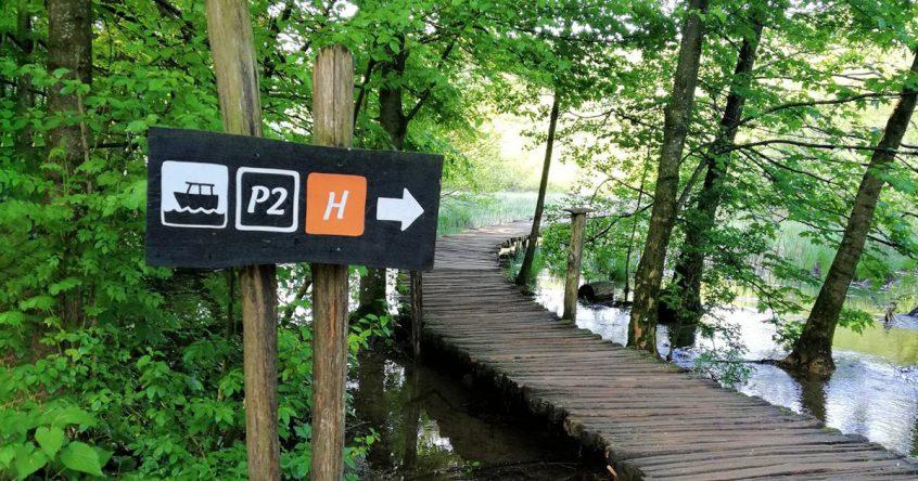 Priprema gostiju za posjet Nacionalnom parku Plitvička jezera