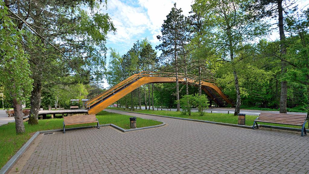 La station de bus: L'entrée des Lacs de Plitvice 1 (Rastovača) – Zagreb