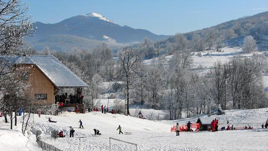 Sanjkanje Skijaliste Mukinje