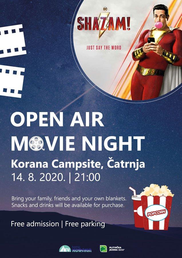 Open air movie night 2020