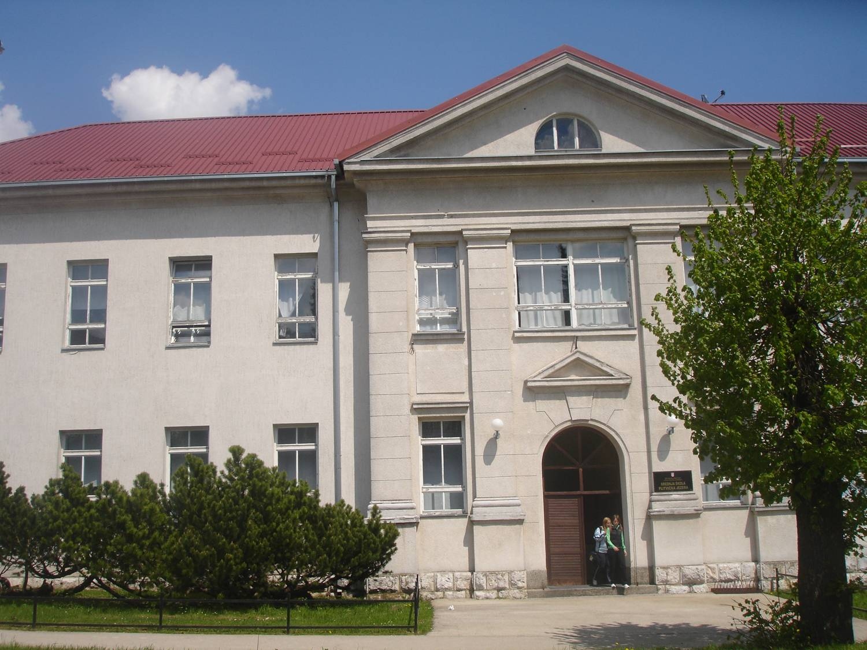 La scuola media superiore Plitvička jezera (Laghi di Plitvice) a Korenica