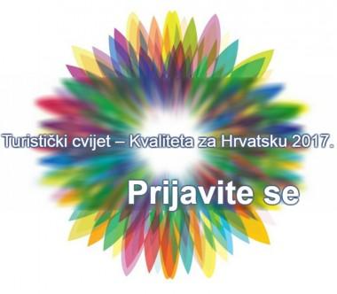 Turistički cvijet HGK kvaliteta za hrvtasku 2017