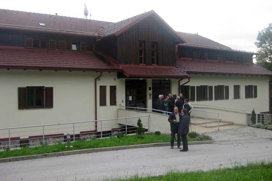Il centro pastorale Emmaus di Plitvice
