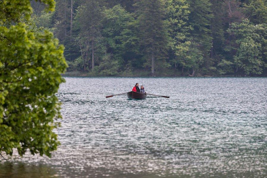 čamci u NP Plitvička jezera