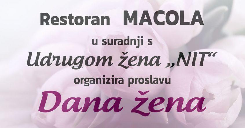 Dan žena u restoranu Macola