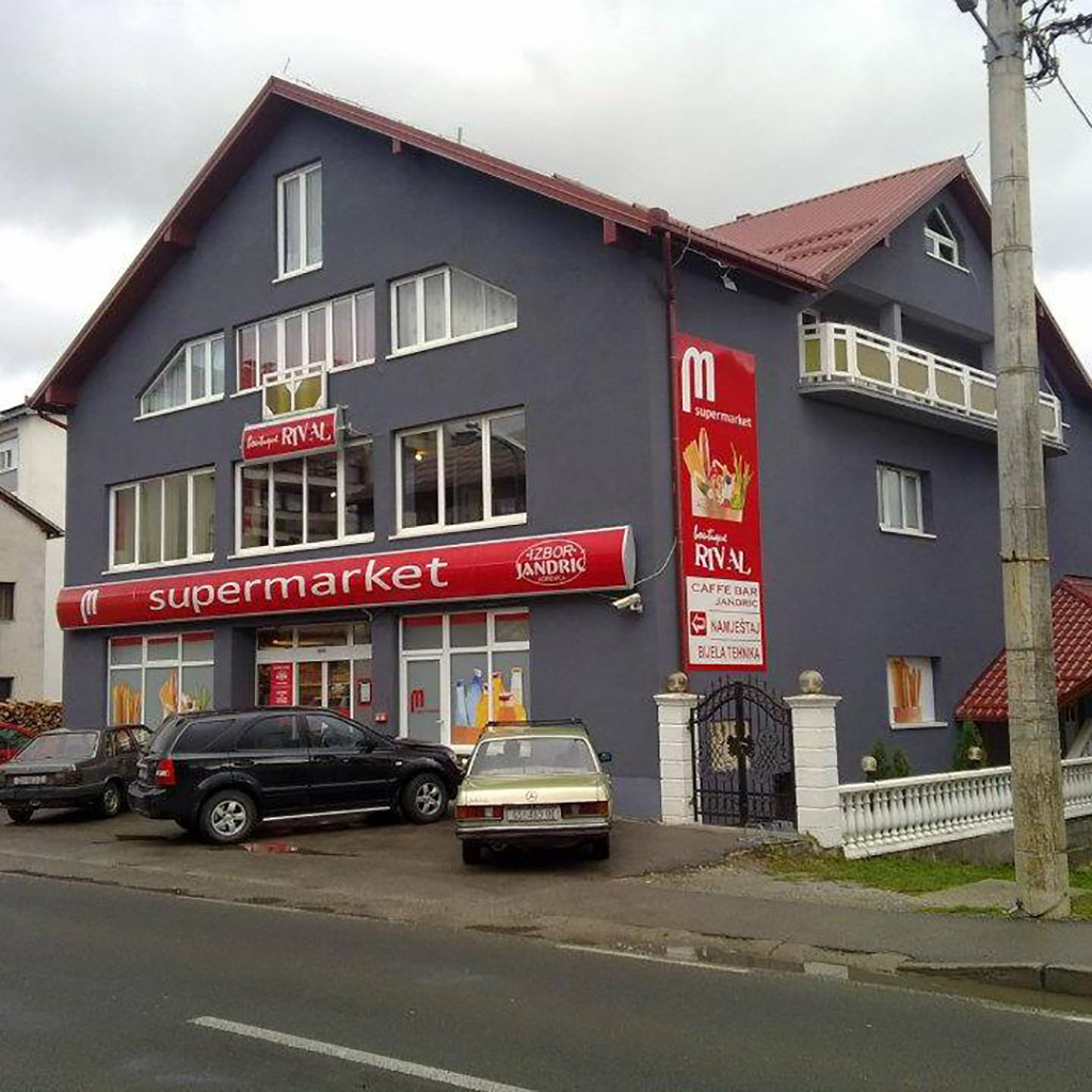 Izbor Jandrić d.o.o. – Supermarkt