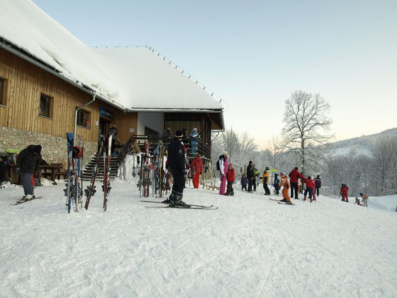 Skijalište i sanjkalište Mukinje