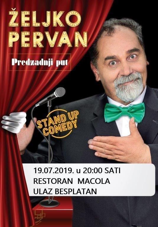 Stand up Comedy - Željko Pervan