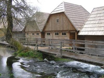 Špoljarić Watermill and Sawmill in the village of Korana