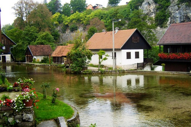 Watermill village of Rastoke