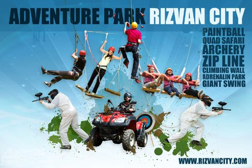 Le centre d'aventures et excursions Rizvan City