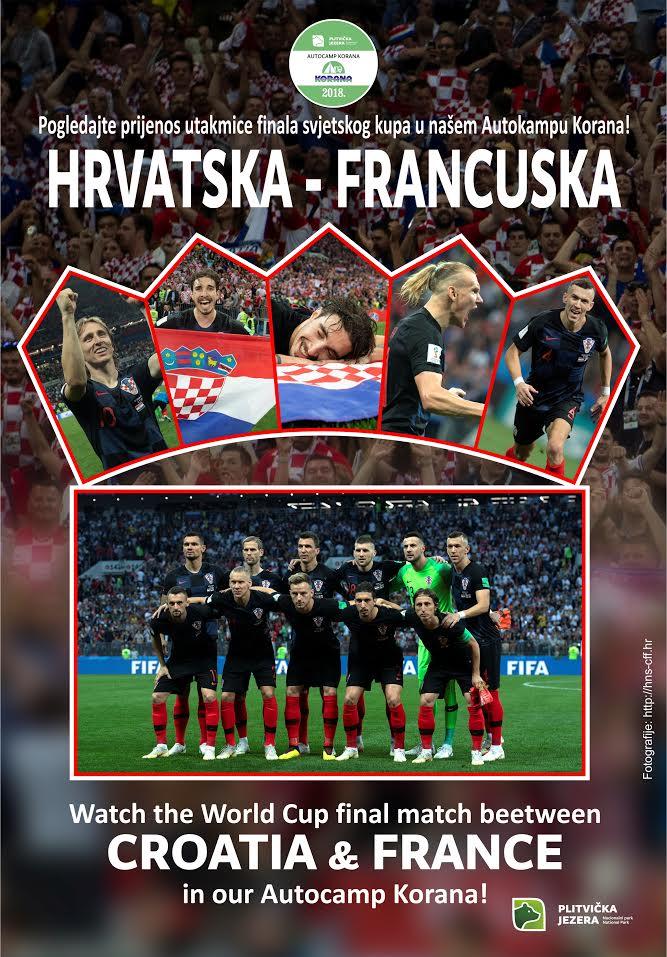 Utakmica Hrvatska Francuska