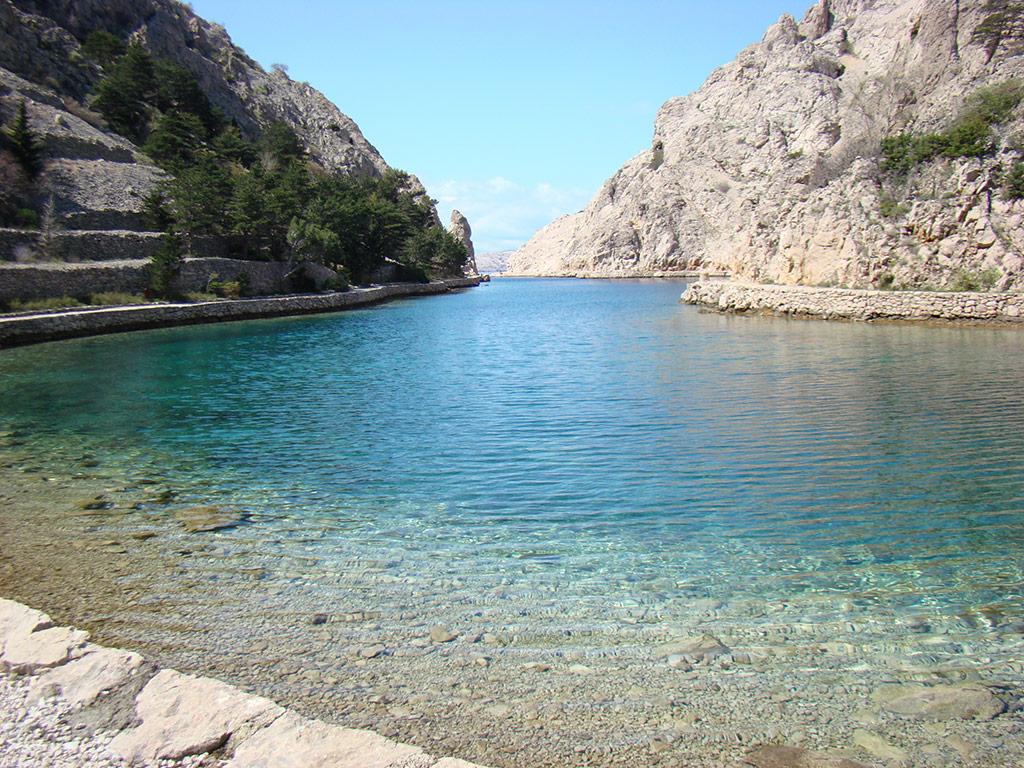Baie de Zavratnica – paysage protégé
